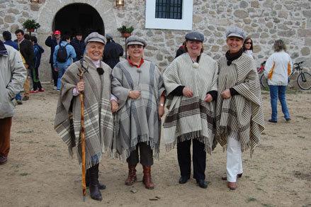 La romería contó un año más con una gran participación. (Foto: Carlos Granda.)
