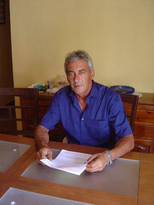 El alcalde de Gamonal, Benito Garrido Gutiérrez. (Foto: LVDT)
