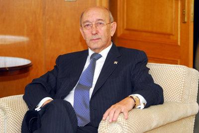 El director general de la entidad financiera, Rafael Martín Molero. (Foto: LVDT)