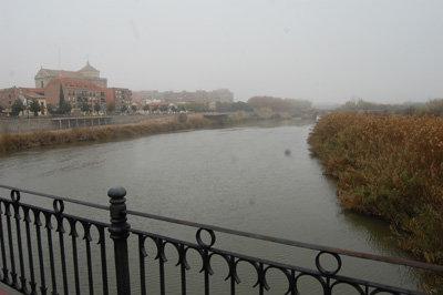 Imagen del río Tajo a su paso por Talavera. (Foto: J.F.)