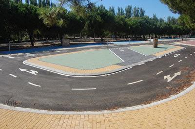 Las instalaciones de la Ronda del Ca�illo llevar�n el nombre de Miguel Solana una vez finalizadas. (Foto: Carlos Granda)