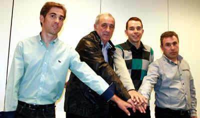 El equipo de Caja Rural ficha a David Arroyo como jefe de filas para las grandes vueltas