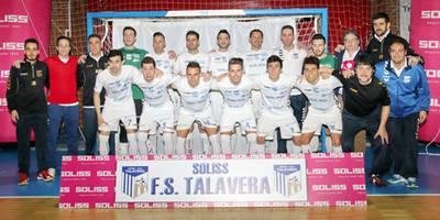 El Soliss FS Talavera coloca a sus 14 jugadores en la primera ronda del III Balón del CLM