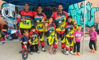 Tres podios para Formación Deportiva en la tercera prueba de la Liga BMX Keway