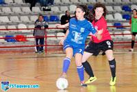 Un mermado FS Talavera Femenino da la cara en Villacañas pero pierde