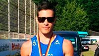 Oro para Enrique Peces en el Mundial de media distancia de cuadratlón en Wolsztyn