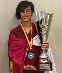 La oropesana Lara Zapardiel se proclama campeona de España de Pesca en Valencia