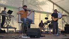 Solidaridad talaverana en el festival 'Vamos Paula'