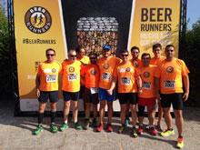 Beer Runners Talavera estuvo presente en el Hipódromo de la Zarzuela de Madrid