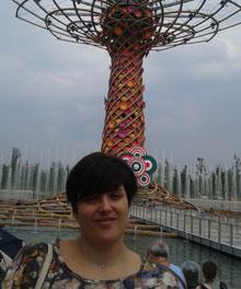 TALAVERANOS POR EL MUNDO: Cristina Ramos Plasencia, 32 años (Reggio Emilia, Italia)
