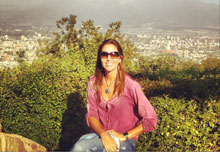 TALAVERANOS POR EL MUNDO: Beatriz Santis Flores, 25 años (Santiago de Chile, Chile)