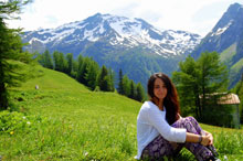 TALAVERANOS POR EL MUNDO: María Begoña Santaella, 25 años (Prévessin-Moëns, Francia)