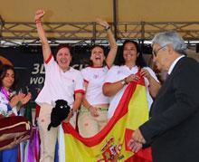 La talaverana Begoña Pérez Botrán se proclama Campeona del Mundo de tiro con arco