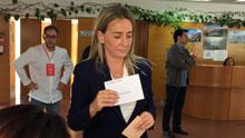 Tolón se convertirá en la primera alcaldesa de Toledo si pacta con Ganemos