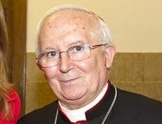 El cardenal Cañizares resulta herido leve tras un accidente con una conductora ebria