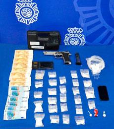 Desarticulan un grupo criminal dedicado a la distribución de cocaína a nivel nacional