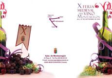 Todo preparado en Montearag�n para la X Feria Medieval del Vino