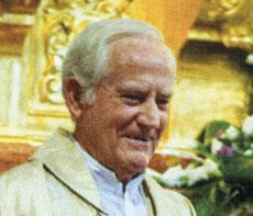 Don Antonio Molina, p�rroco de Calera y Chozas, nombrado Hijo Adoptivo de la localidad