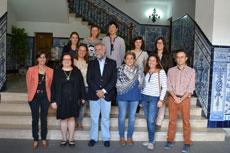 Participantes del Proyecto Promece visitan el Ayuntamiento