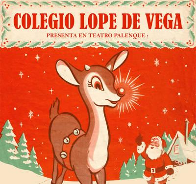 Rudolph en la gala de Navidad del Lope de Vega