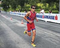 Alarza acaba cuarto, tras un gran trabajo, en el Europeo de Kitzbühel