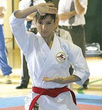 Otro título más para la karateca talaverana Sandra Sánchez en el Nacional de Kárate Tradicional