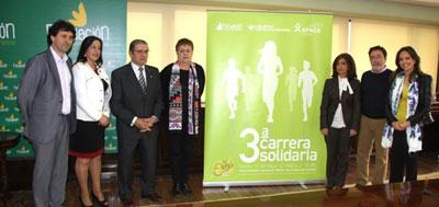Superación de los retos sociales en la III Carrera Solidaria de Caja Rural CLM
