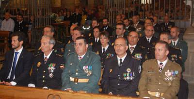 La Policía Nacional celebra a sus patronos, los Santos Ángeles Custodios