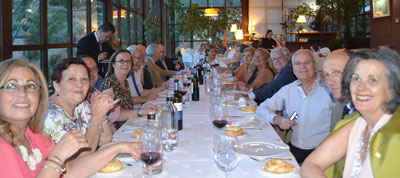 El colegio de aparejadores de toledo celebra la cena de for Colegio de aparejadores de murcia