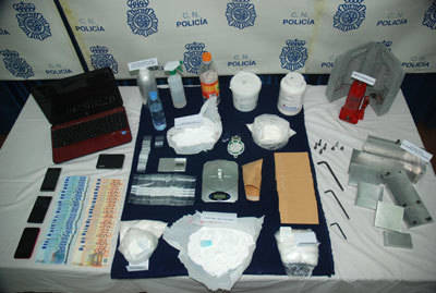 Desarticulado un grupo criminal dedicado al tráfico de drogas