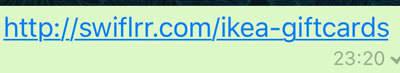 Falsos mensajes por WhatsApp con IKEA como gancho para lograr datos de los usuarios