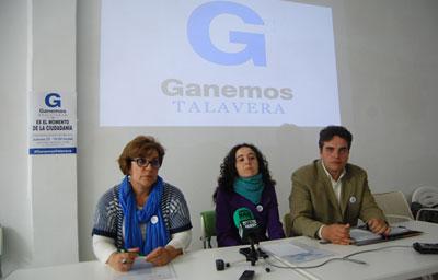 Ganemos Talavera ya dispone de lista definitiva tras la reciente salida de cinco candidatos