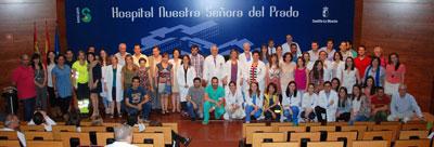 17 nuevos profesionales sanitarios inician su formación este año en el Área Sanitaria de Talavera