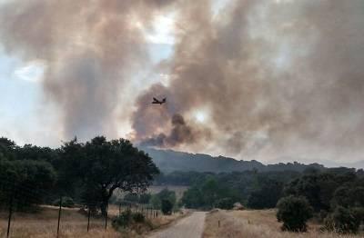 Extinguido el incendio de Navalcán originado el pasado jueves tras quemar unas 1.100 hectáreas
