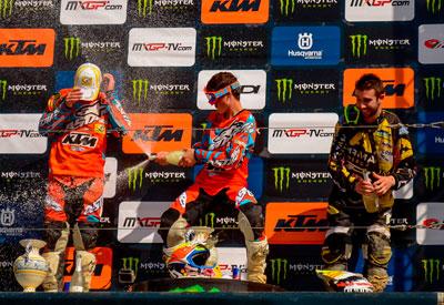 Cairoli consigue la victoria en MXGP y Jorge Prado hace lo propio en MX en un abarrotado circuito del Cerro Negro