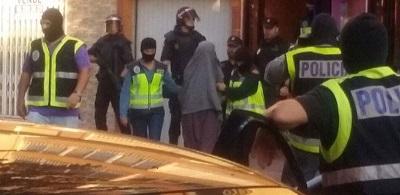 Diez detenidos entre espa a y marruecos dos de ellos en for Muebles santa cruz de retamar
