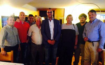 Ciudadanos Talavera se reúne con una representación de los dirigentes del deporte local