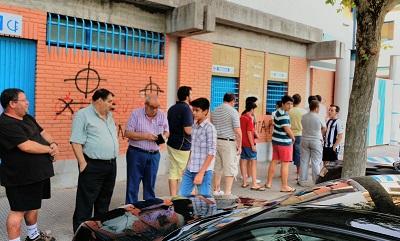 Gran expectación en las taquillas de El Prado para el encuentro de Copa ante la Balompédica Linense