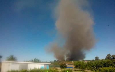 Nuevo incendio, por tercer domingo consecutivo, en las inmediaciones de Torrehierro
