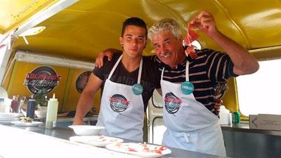 Los Maldonado estarán en la final del programa Cocineros al Volante de La1