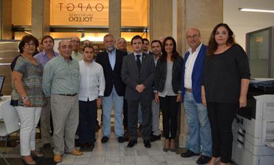 La Oficina del OAPGT de Talavera acomete obras de modernizaci�n, accedibilidad y seguridad