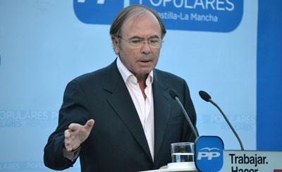 García-Escudero pide el voto para el PP para 'continuar en la buena senda' en Talavera y Castilla-La Mancha