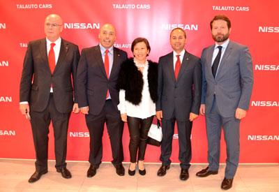 Multitudinaria puesta de largo de Talauto Cars, concesionario oficial Nissan en Talavera