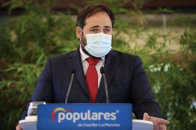 Núñez 'no se moja' tras la defensa de Casado al trasvase
