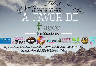 Los 103 km entre Talavera y Toledo a pie por la AECC