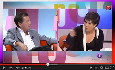 El periodista Alfonso Rojo llama 'gorda' a la socialista Beatriz Talegón en un programa de CMT (VÍDEO)