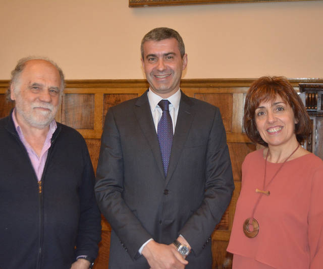Diputación recibe a los Amigos del Ruiz de Luna