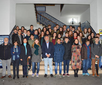 Visita de alumnos de Bath (Reino Unido) a Talavera