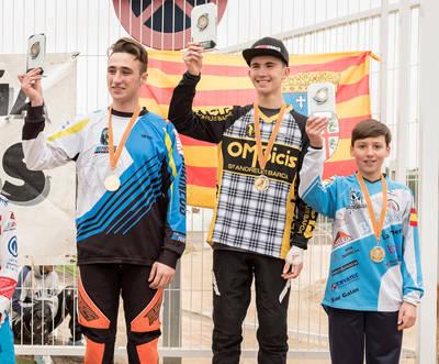 Oro y bronce para el BMX Talavera en Aragón