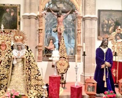 Solemne besamanos del Cautivo y María Santísima